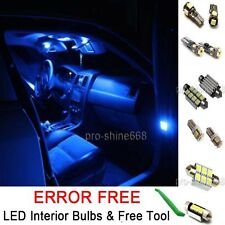 New Interior Car LED Bulbs Light KIT Package Xenon Blue 10000K For VW GOLF MK4