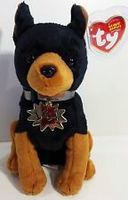 "TY Beanie Babies ""LUCA"" the Dog from GARFIELD THE MOVIE - MWMTs! RETIRED! Gift!"
