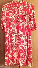 DIANE VON FURSTENBERG DVF MADELEINE FRAMBOISE PARTY DRESS - 100% SILK, SZ 6, NWT