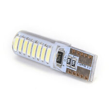 2Pcs White T10 194 168 W5W 4014 16 LED Silica LED Car License Plate Light Bulb