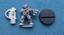 40K SPACE MARINE SERVITOR WITH MULTI MELTA METAL OOP (G975)