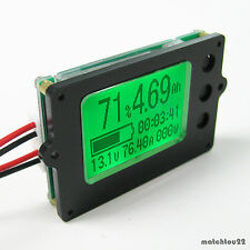DC12 24 36 48 60V BATTERY CAPACITY % VOLTS CURRENT POWER PARAMETERS INSTRUMENT