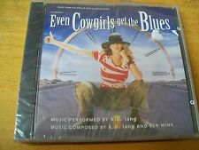 EVEN COWGIRLS GET THE BLUES O.S.T. CD SIGILLATO  K.D. LANG AND BEN MINK