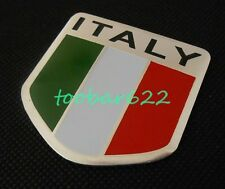 Rear 3D Metal Car Emblem ITALY ITALIAN FLAG Badge Sticker Decal tR90