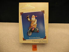 Hallmark Christmas Ornament TOYMAKER SANTA 2002 Collector's Series 3 MINT IN BOX
