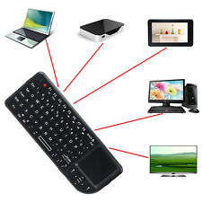 2,4 G Teclado Inalámbrico con Ratón Pantalla táctil para PC Notebook TV Smart