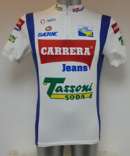 Nalini Carrera Jeans Denim Cycle Cycling Shirt Jersey Medium 40""