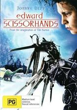 Edward Scissorhands * NEW DVD * Johnny Depp Winona Ryder Tim Burton