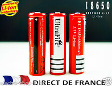 UNE PILE 18650 3.7V 6800mAh Rechargeable akku BATTERY Li-ion