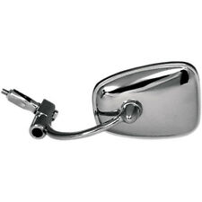 """Emgo Chrome Bar End Motorcycle Mirror Left OR Right for 7/8"""" Handlebar"""