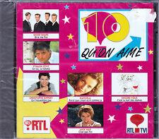 CD 18T 10 QU'ON AIME DELAGRANGE/GOLD/ANTHONY DUPRAY/MANUELA LOPEZ/RIPPERT/VIDAL