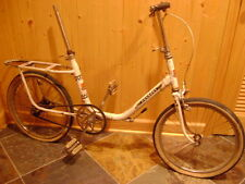 "rare vintage used 20"" wheel Peugeot adult folding bicycle early 1970s"