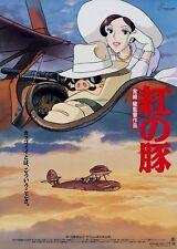 POSTER KURENAI NO BUTA (PORCO ROSSO, 1992) HAYAO MIYAZAKI - VERSION JAPAN