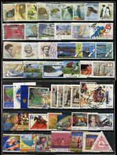 NUOVA Zelanda 1988-2005 collezione Belle utilizzati Set + singles 206 FRANCOBOLLI