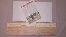 1/8 Scale Cessna 188 AGWAGON Laser Cut Short Kit, Plans & Instruction 61 in. WS