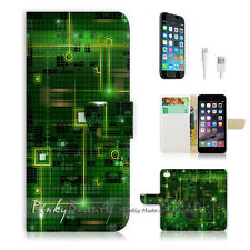 iPhone 7 PLUS (5.5') Flip Wallet Case Cover P0175 Motherboard