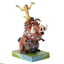 Disney Traditions Ornament Carefree Cohorts Timon & Pumbaa Resin Figurine Gift