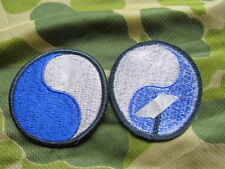 PATCH BLUE AND GREY  29 TH INFANTERY DIVISON EPOQUE VIETNAM