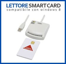 LETTORE SMART CARD USB FIRMA DIGITALE CAMERA DI COMMERCIO WINDOWS E MAC OS