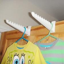 2pcs Clothes Bag Over the Door Hanger Hooks Closet Organizer Rack Holder