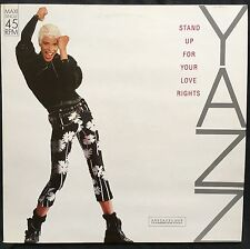 "Yazz ‎12"" Stand Up For Your Love Rights - Red Translucent - Germany (EX/EX)"