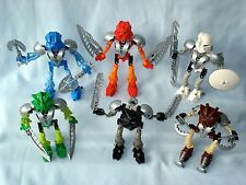 2002 Lego Bionicle ORIGINAL TOA NUVA - Complete Set of 6 (8566-8572)  Mata Nui