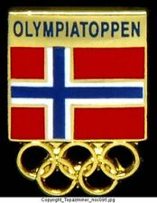 OLYMPIC PINS INTERNAL COUNTRY NOC NORWAY FLAG LOGO