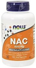 Now Foods, NAC, N-Acetyl Cysteine, 600mg x100Vcaps;- DETOXIFICATION - HANGOVER
