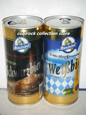 2016 China monchshof beer can 2 cans set 1L/1000ml empty