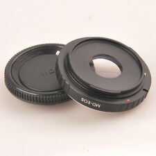 Minolta MD Lens to CANON EOS adapter 1000D 600D 550D Rebel T2i With Glass + CAP