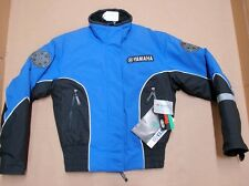 New NWT Yamaha Womens Snowmobile Sheila Jacket Medium Black Blue SMB-030SL-BL-MD
