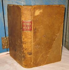 RARE Antique 1843 THE GREAT INDIAN WARS or PHILIP'S WAR OF 1675 by Thomas Church