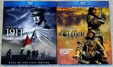 Action Blu-ray DVD Lot - 1911 Revolution & Little Big Soldier (New) Jackie Chan