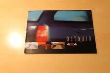 01537) Skoda Octavia 4x4 Prospekt 06/1999