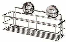NON RUST STRONG SUCTION STAINLESS STEEL SHOWER CADDY/SHELF