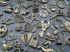 30g Antique Bronze Charm Mix Steampunk Vintage Pendants Kitsch