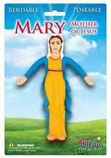 Virgin Mary Mother Of Jesus Religious Christianity Bendable Poseable Figure