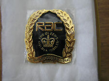 Rare 2002 RAC Limited Edition (1000 only) Golden Jubilee Car Badge Number 972