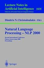 Natural Language Processing - NLP 2000: Second International Conference Patras,