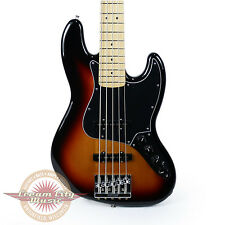 Brand New Fender Deluxe Active Jazz Bass V J Bass in 3 Color Sunburst Demo