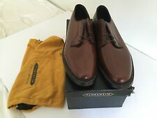 Florsheim Royal Imperial Kenmoor Plain Toe 5 Nail V Cleat   11 D   NEW OLD STOCK