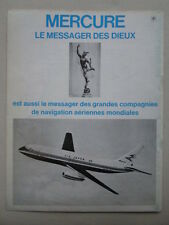 9/1972 PUB AVIONS MARCEL DASSAULT MERCURE AIRCRAFT AIR INTER ORIGINAL FRENCH AD