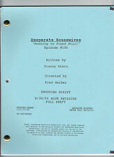 "DESPERATE HOUSEWIVES show script ""Running to Stand Still"""