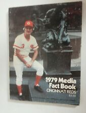 Vintage Baseball 1979 CINCINNATI REDS Media Guide RARE MLB