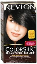 Revlon ColorSilk Hair Color 11 Soft Black 1 Each