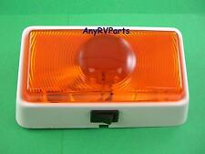RV Trailer Exterior Porch Light Amber Command Classic 007-50SAC