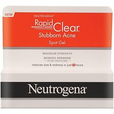 Neutrogena Rapid Clear Stubborn Acne Spot Gel, 1 Ounce