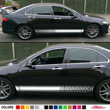 Decal sticker Graphic Side Stripe kit set For HONDA Accord Chrome Headlight LED