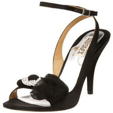 Badgley Mischka Dylan Femmes Bride Cheville UK noir talon 7.5 (10421)