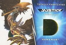 2016 DC Comics Justice League Totally Fabricated TF-14 Hawkman Costume Card Gold
